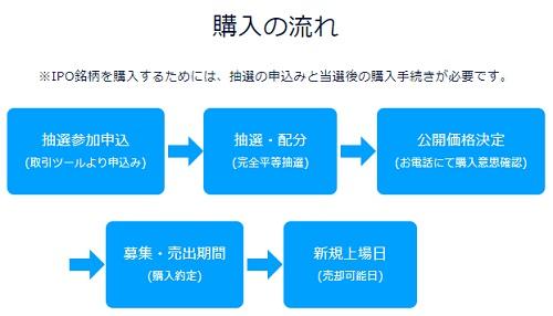 DMM.com証券でIPOが当選した場合の購入方法