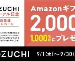 COZUCHI(コズチ)口座開設キャンペーン